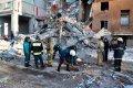Работа спасателей на завалах дома в Магнитогорске