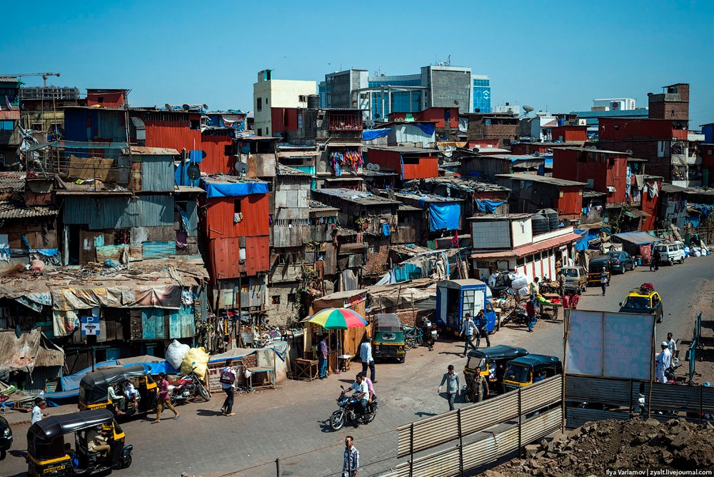 Жизнь в Мумбаи