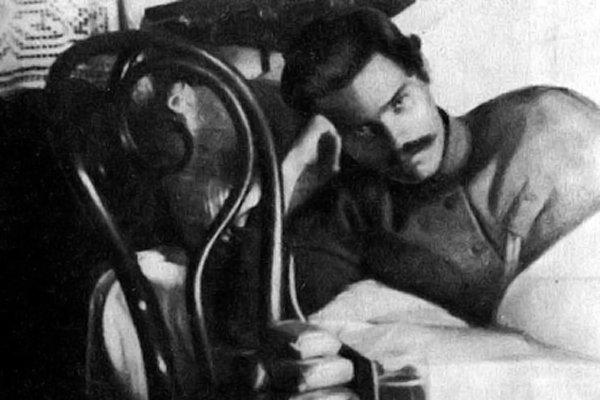 Нестор Махно на излечении в Старобельском госпитале. Осень 1920 года