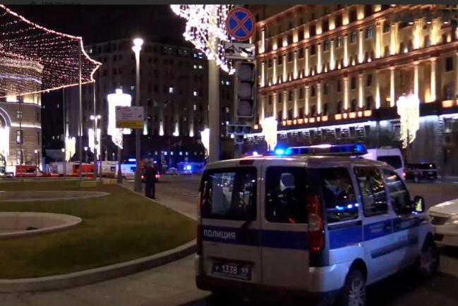 Перестрелка у здания приёмной ФСБ в центре Москвы