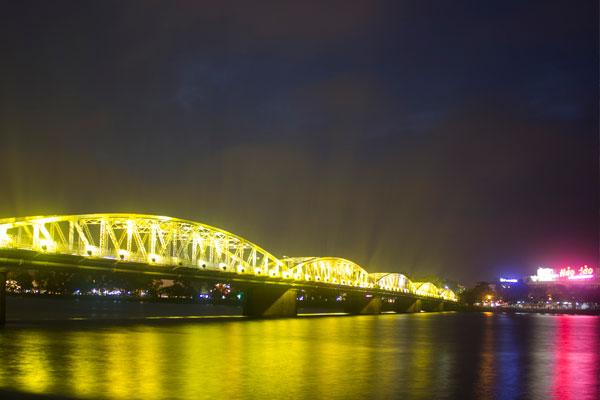 Мост Cầu Trường Tiền, г. Хюэ. Вьетнам.