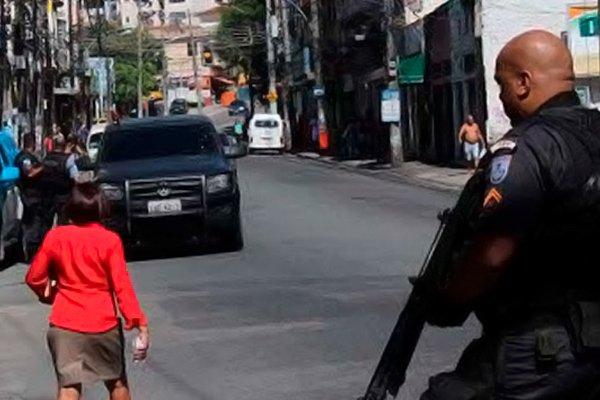 Операция в центре Рио-де-Жанейро