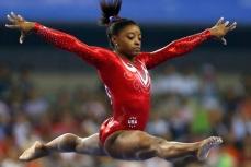 Олимпийская чемпионка в Рио Симона Байлз.