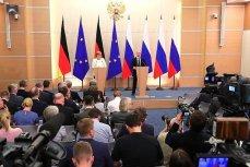Совместная пресс-конференция с Канцлером ФРГ Ангелой Меркель