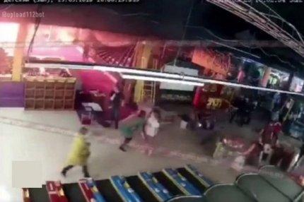 Пожар в ТЦ «Зимняя вишня» в Кемерово