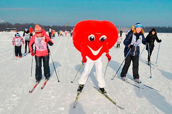 Всероссийская лыжная гонка.