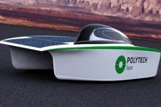"Солнцемобиль проекта ""Polytech Solar""."
