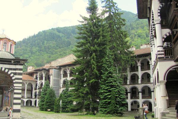 Рильский монастырь. Болгария.