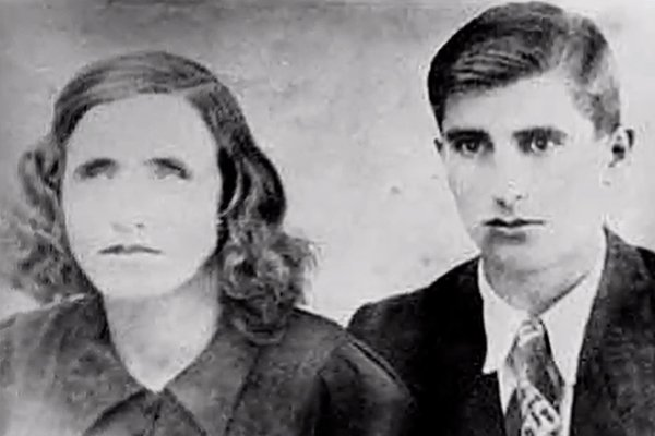 Ванга с мужем Димитром Гуштеровым