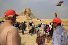 Долина сфинксов в Египте.