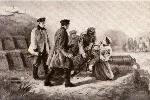 Смерть адмирала Нахимова. «Эпизоды Севастопольской жизни» 1854-1855