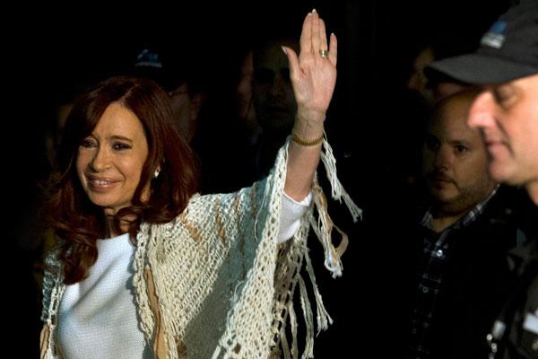 Экс-президент Аргентины Кристина Фернандес де Киршнер.