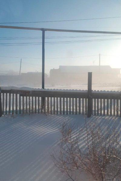 Сероводородный туман в Сибае