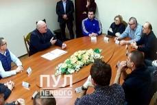 Лукашенко в СИЗО КГБ встретился с оппозиционерами