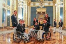 Паралимпийская сборная России.