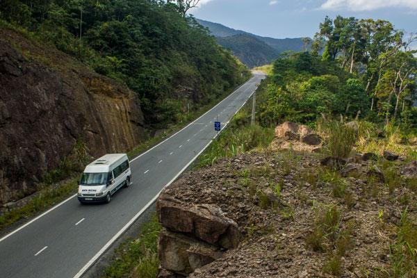 Дорога от Нячанга в Далат.