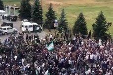 Митинг в Магасе против передела земель с Чечнёй