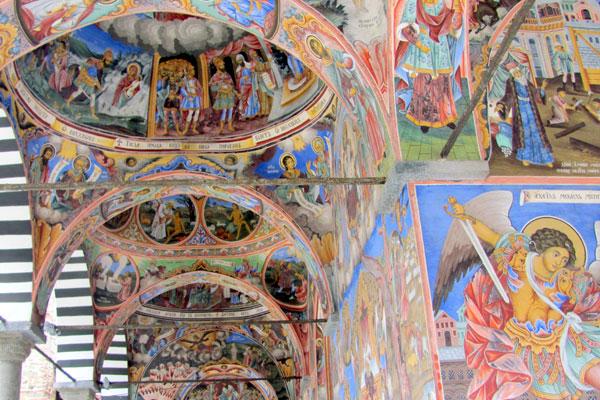 Рильский монастырь, фрески. Болгария.