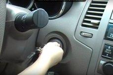 Ребенок за рулем.