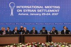 Встреча в Астане представителей сирийского правительства и оппозиции.