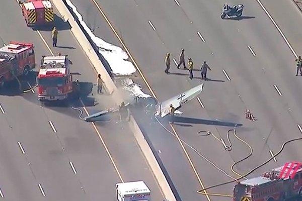Крушение самолёта в Калифорнии