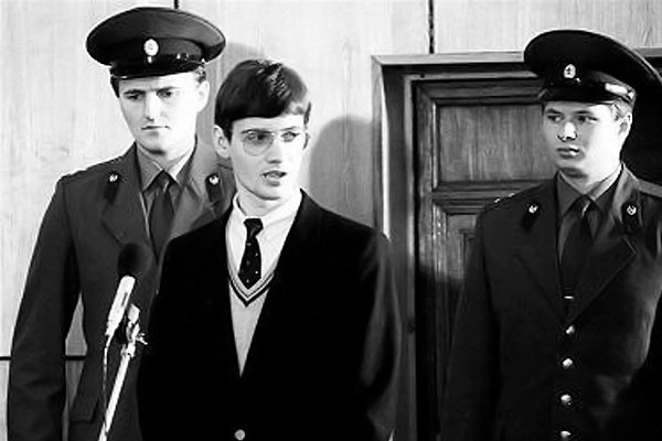 Матиас Руст в советском суде