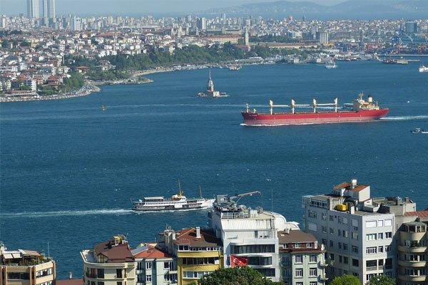 Пролив Босфор в Турции
