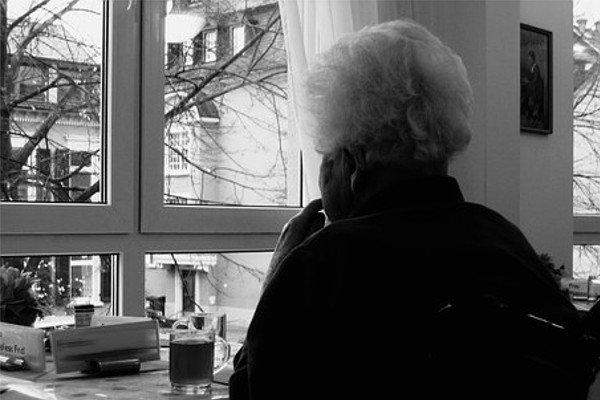 Пациентка дома престарелых