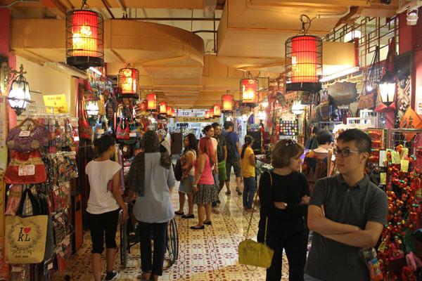 Центральный рынок Куала-Лумпура. Малайзия.