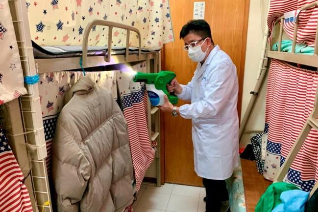 Покрытие, защищающее от коронавируса