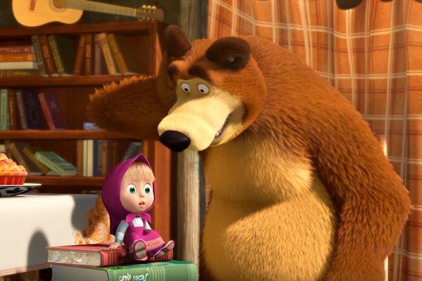 Мультсериал «Маша и медведь»