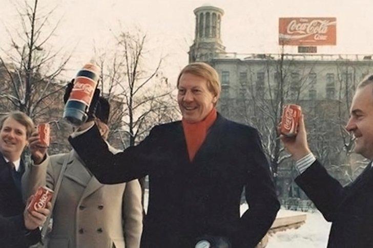 Реклама Coca-Cola в Советском Союзе