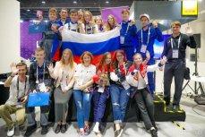 Российская команда на чемпионате Junior Skills в Абу-Даби