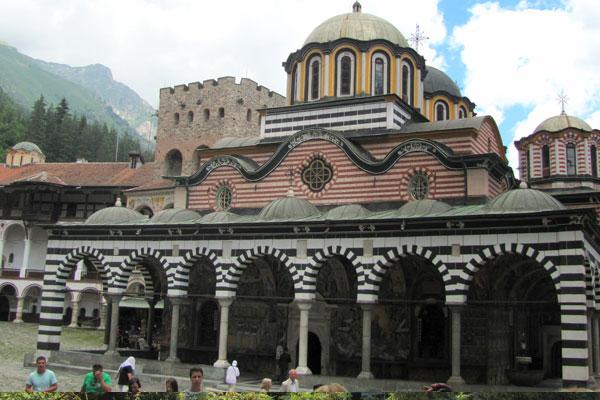 Рильский монастырь в Болгарии.