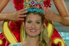 Победительница конкурса красоты испанка Мирейя Лалагуна Ройо.