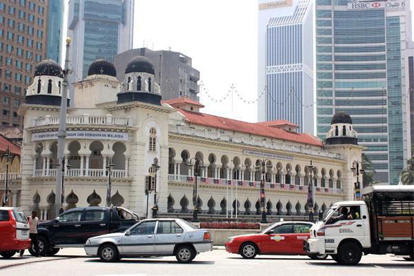 Министерство коммуникаций в Куала-Лумпуре. Малайзия.