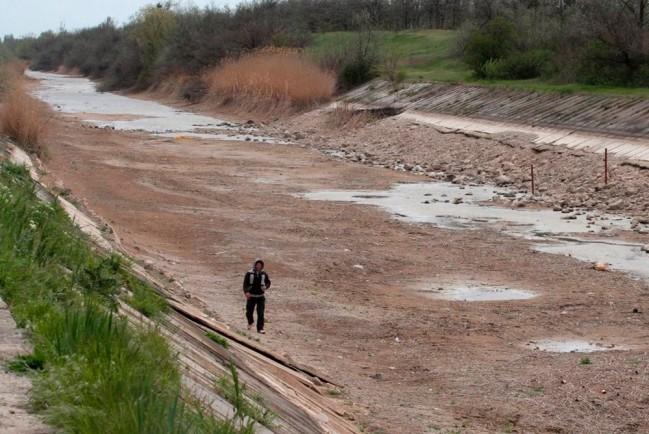 В Крыму пересохли основные реки