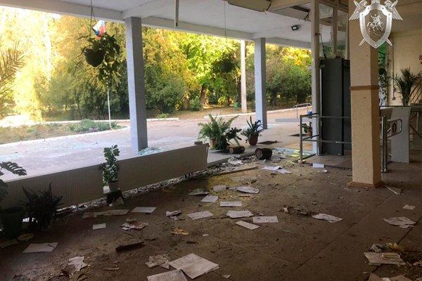 Керченский колледж после взрыва