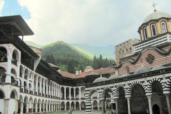 Рильский монастырский комплекс. Болгария.