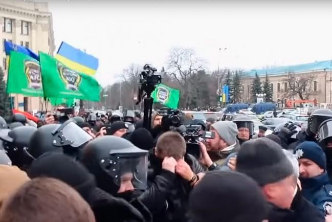 В Харькове митинг в поддержку русского языка