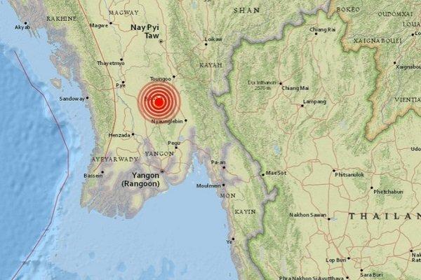 Землетрясение в Бирме
