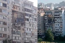 В Киеве из-за взрыва обрушилась многоэтажка