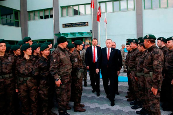 Президент Турции Эрдоган.