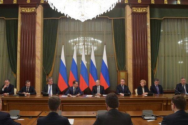 Владимир Путин, итоговая встреча с Правительством, 19 декабря 2016.