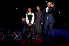 Барак Обама с семьёй.