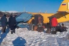 Место крушения Ан-2 в Магадане
