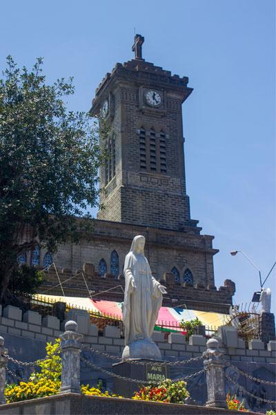 Кафедральный собор Нячанга. Вьетнам.