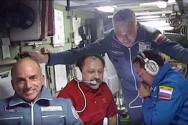 Первый космический турист Денис Тито на МКС