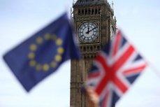 Флаги ЕС и Великобритании.