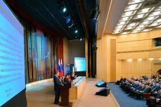 Владимир Путин на семинаре.